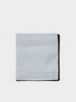 Шарф черно-сизого цвета | 5540348
