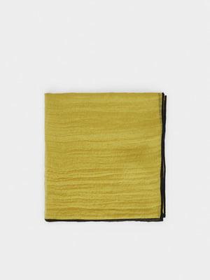 Шарф чорно-оливкового кольору | 5540349