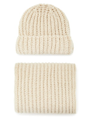 Комплект: шапка і шарф | 5541553