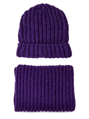 Комплект: шапка и шарф   5541554