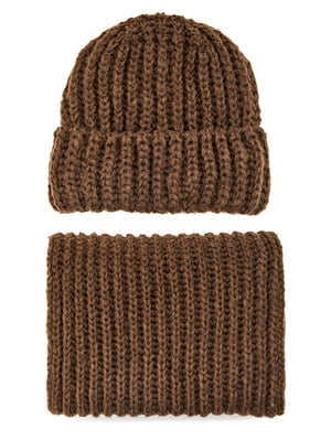 Комплект: шапка і шарф | 5541555
