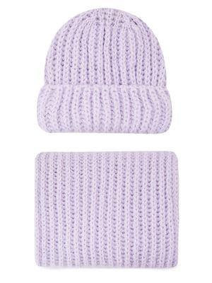 Комплект: шапка і шарф | 5541556