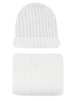 Комплект: шапка і шарф | 5541557