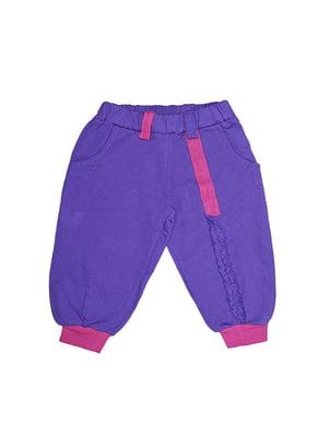 Брюки фиолетовые | 5542202
