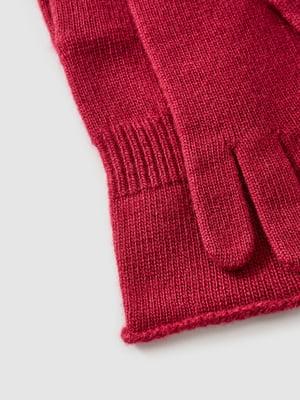 Перчатки бордовые | 5520812