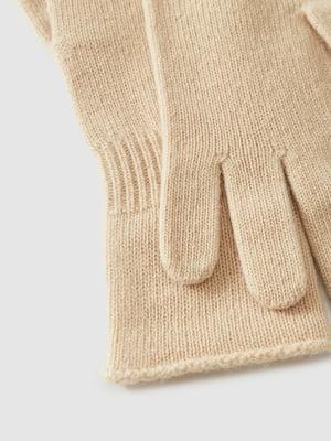 Перчатки бежевые | 5520813