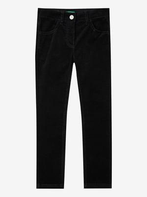 Штани чорні вельветові | 5540671