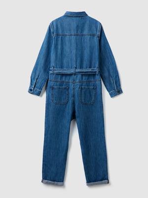 Комбинезон синий джинсовый   5540675
