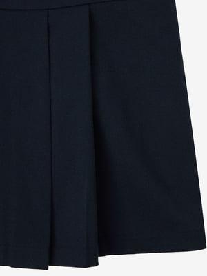 Платье-сарафан темно-синий | 5540705