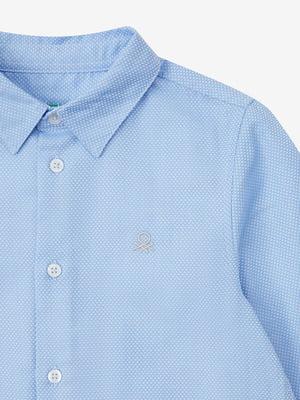 Рубашка голубая | 5540711