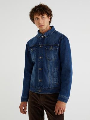 Куртка синяя джинсовая | 5540835