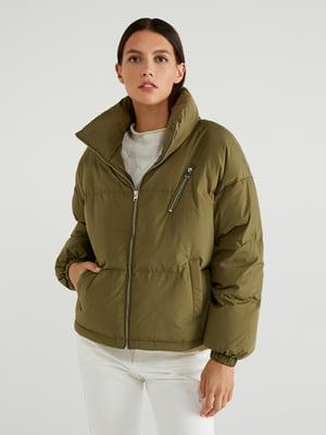 Куртка цвета хаки | 5540846