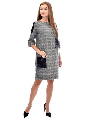 Сукня сіра у клітинку | 5542312
