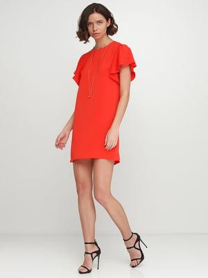 Сукня коралового кольору | 5542337