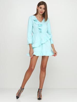 Сукня бірюзова | 5542358