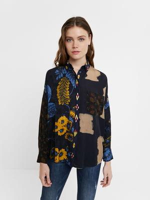 Рубашка в принт   5535890