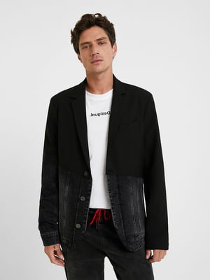 Пиджак черно-серый | 5540242