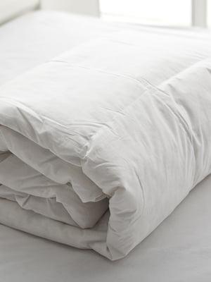 Одеяло стеганое с гусиным пухом (155х215 см) | 5532241