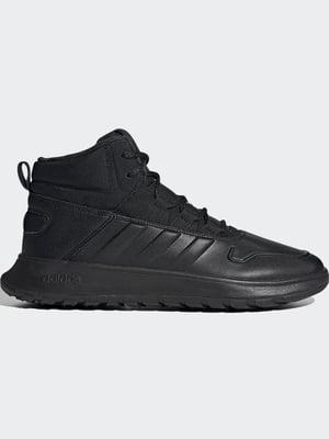 Кросівки чорні з логотипом | 5538226