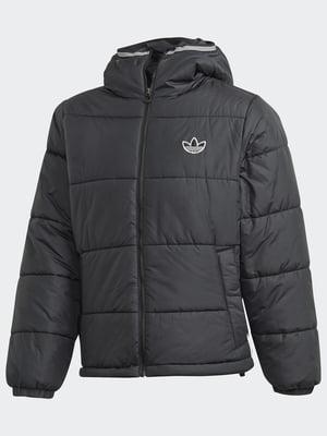 Куртка чорна з логотипом   5546586