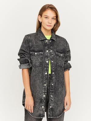 Куртка джинсова сіра | 5542021