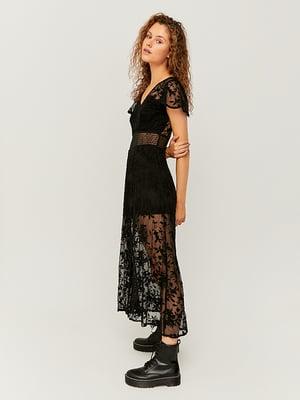 Сукня чорна з візерунком | 5542051