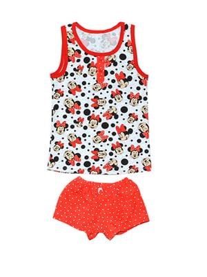 Пижама: майка и шорты | 5546557