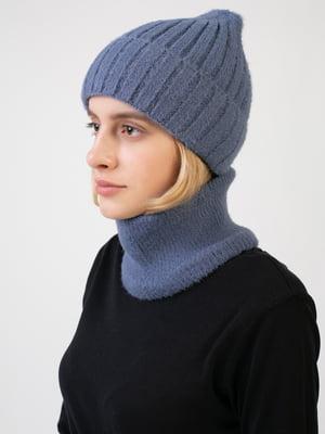 Комплект: шапка і шарф-снуд | 5541136