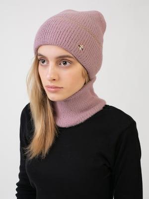 Комплект: шапка и шарф-снуд | 5541114