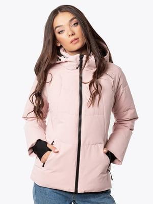 Куртка  пудрового цвета | 5546864