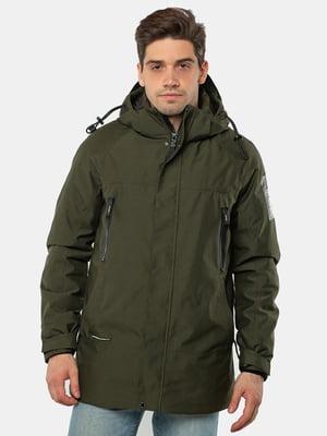 Куртка темно-зелёная | 5546860