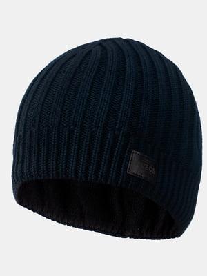Шапка темно-синя | 5546880