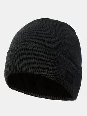 Шапка темно-серая   5546893