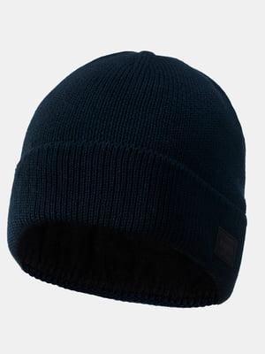 Шапка темно-синяя   5546894