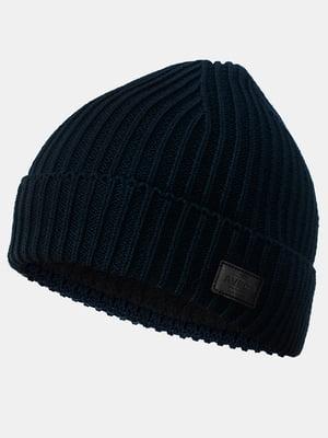 Шапка темно-синяя   5546897