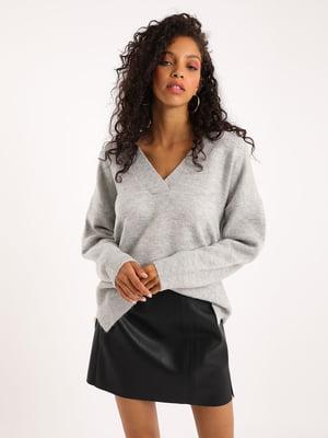 Пуловер серый | 5541764