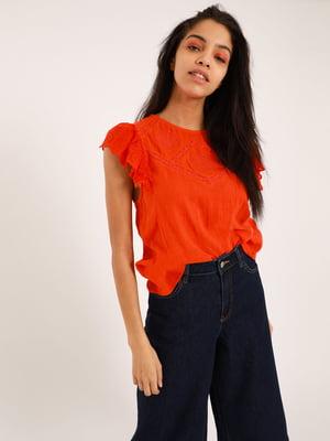 Блуза оранжевая | 5541797