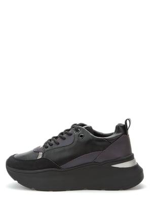 Кросівки чорно-зелені | 5547096