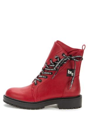 Ботинки красные | 5547108