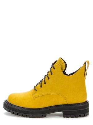 Ботинки желтые | 5547111