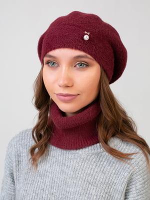 Комплект: берет и шарф-снуд | 5541100