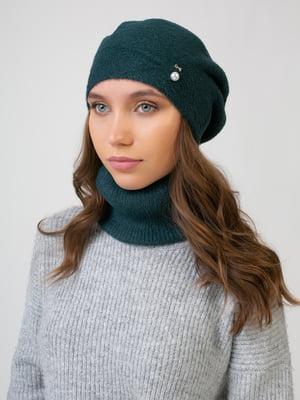Комплект: берет і шарф-снуд | 5541099