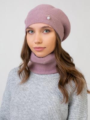 Комплект: берет і шарф-снуд | 5541096