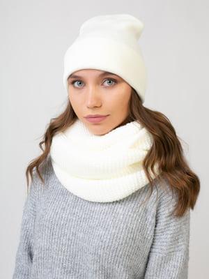 Комплект: шапка і шарф-снуд   5541088