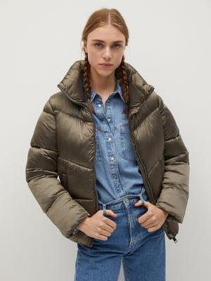Куртка болотного кольору | 5546957