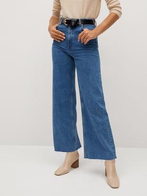 Кюлоты синие джинсовые | 5547050