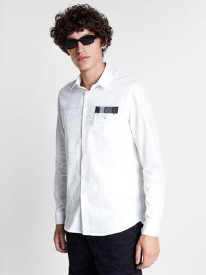 Сорочка біла з декором | 5547189