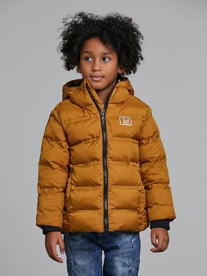 Куртка гірчичного кольору   5547347