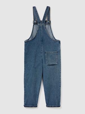 Комбинезон синий джинсовый | 5540680