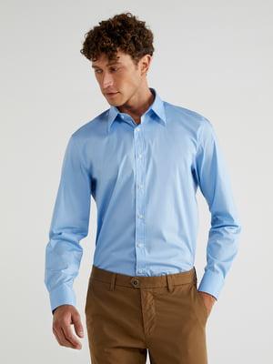 Рубашка голубая | 5540931